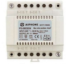 Aiphone PS-0603DIN 6v power supply